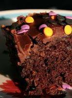 Cantinho Vegetariano: Bolo de Chocolate (vegana)