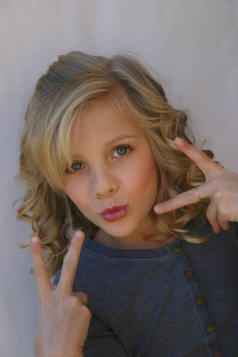 Paige Hyland. even though she's doing that face and those hands, I LOVE HER!