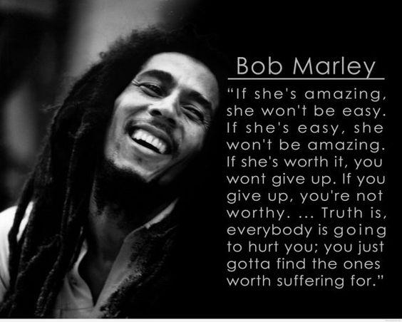 Bob Marley If she's amazing she won't be by PostersAndPrintsMTL