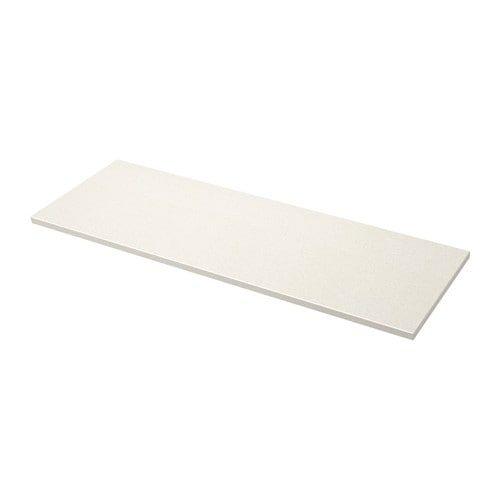 Oxsten Plan De Travail Sur Mesure Blanc Motif Mineral Quartz 45 1 63 5x3 8 Cm Plan De Travail Ikea Mineraux