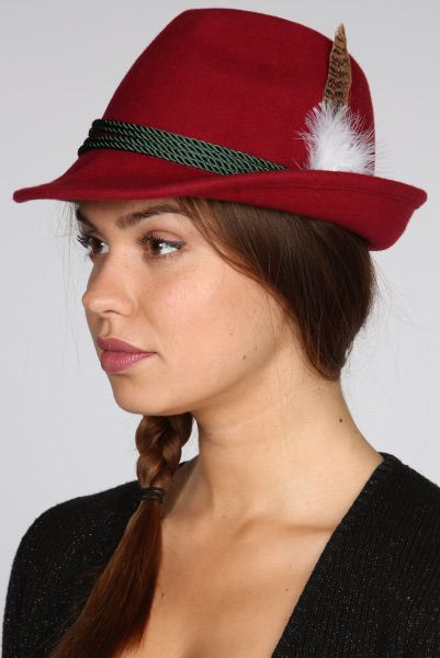 Just for 5£...Feathers Embellished Hunter\'s Trilby