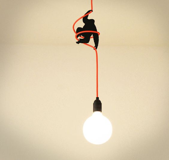 King Kong Lamp Cable Holder