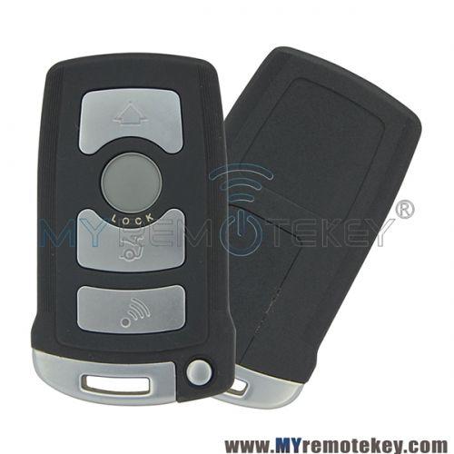Smart Key For Bmw 7 Series Lx8766s 4 Button Bmw 7 Series Smart