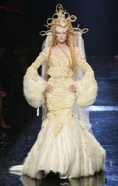 Les plus belles robes de mariée de Jean Paul Gaultier