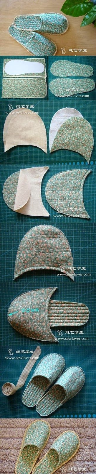 DIY : Sew Slipper | DIY & Crafts Tutorials: