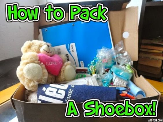 This is a wonderful family project that will teach the joy of giving! How to Pack a Shoe Box: Operation Christmas Child