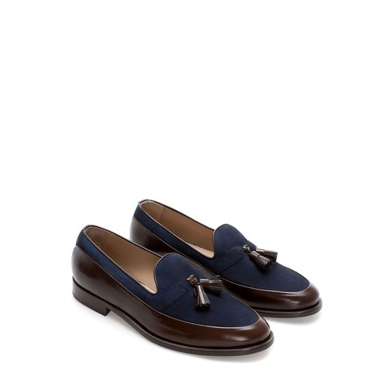 COMBINATION MOCCASIN - Shoes - Man - New collection | ZARA United States