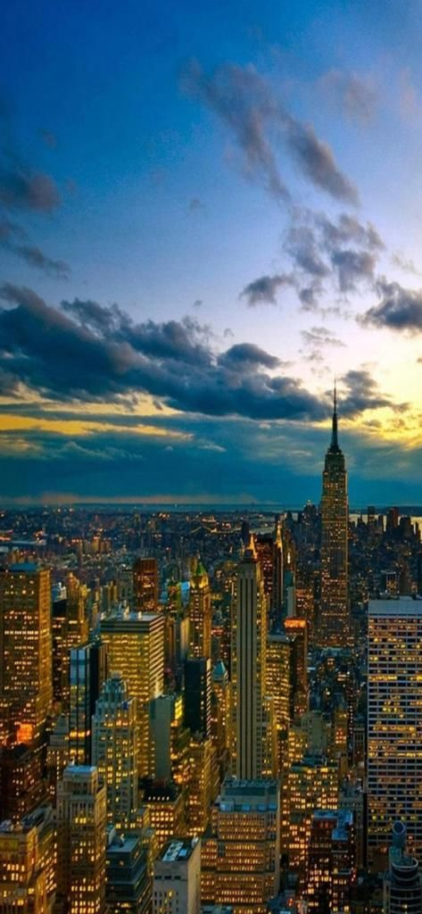 Iphone X 4k Wallpaper City Skyscrapers Urban Landscape