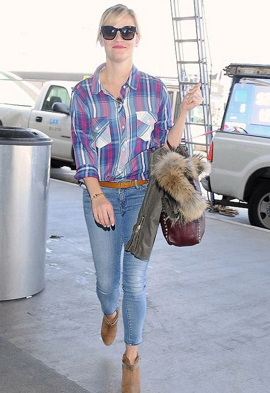 Rails Carmen Long Sleeve Button Down as seen on Reese Witherspoon $137  via @SINGER22