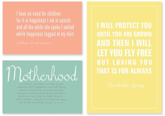 Great mommy quotes!