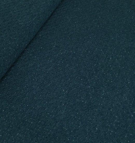 Gebreide groen met metallic draad - In't leerke