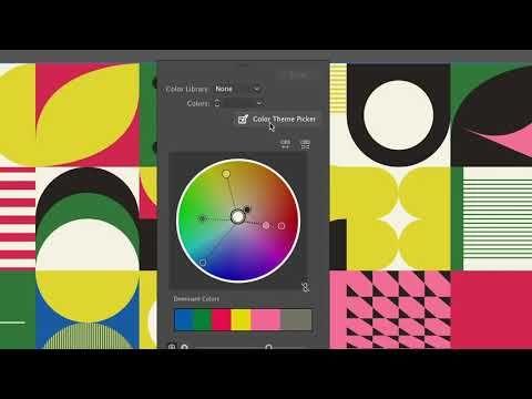New Video Adobe Illustrator Recolor Artwork Sneak Preview Adobe Creative Cloud On Youtu Adobe Creative Cloud Tutorials Adobe Creative Adobe Creative Cloud