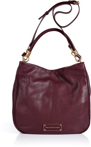 Cardamom Leather Hobo Bag -Marc Jacobs Need that bag this instant. Love the colour