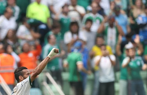 Leandro Pereira - Palmeiras 1x0 Botafogo/SP - Allianz Parque - Campeonato Paulista 12/04/2015