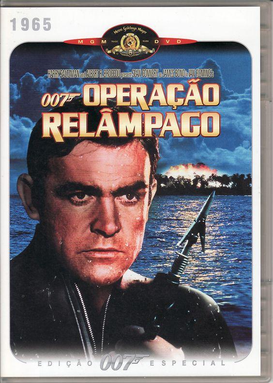 007 Operação Relâmpago (1965) . Edição especial 007 em DVD . Missão nº 5 - preço: € 7 + envio (está como novo)