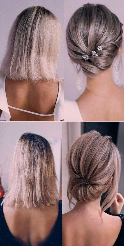 Schicke Und Stilvolle Hochzeitsfrisuren Fur Kurze Haare New Ideas Klassische Hochsteckfrisur Hochzeitsfrisuren Frisur Hochgesteckt