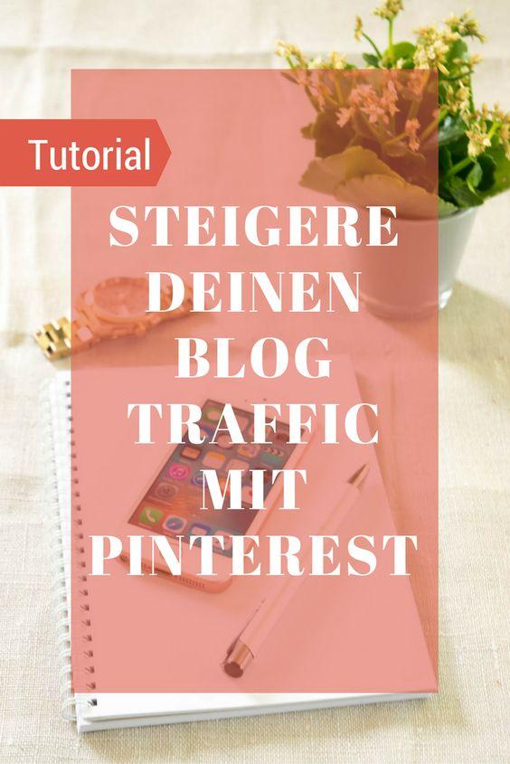 Tutorial, wie ich meinen Pinterest Account strategisch aufgebauen und den Blogtraffic innerhalb von 3 Monaten vervielfachen konnte.
