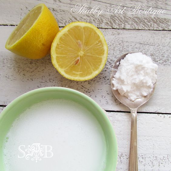 Grandmas homemade cleaning products with no chemicals just from using the products you already have around home