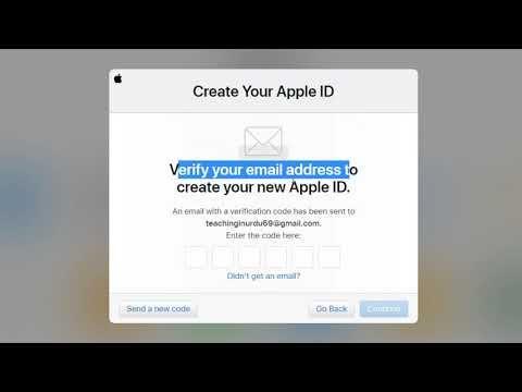 How To Create An Apple Id Apple Id Kaise Banaye Urdu Hindi 2020 Urdu Hindi Apple