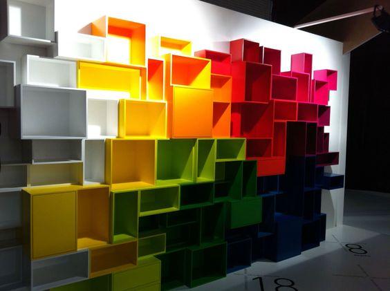 biblioth que biblioth ques pinterest cubes. Black Bedroom Furniture Sets. Home Design Ideas
