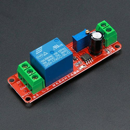 Nerd Junkie I20 Relay Timer Simple Circuit