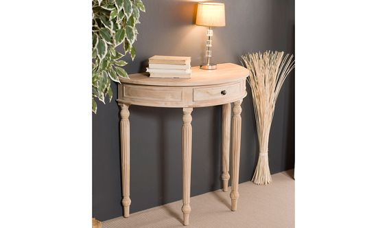 Muebles-Consola-media-luna-colonial-madera-lavada.jpg (2000×1180)