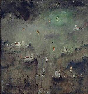Alberto da Veiga Guignard, Noite de São João, 1961.