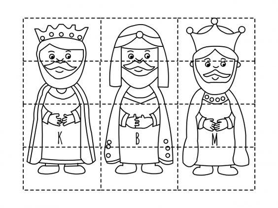 Tři králové - skládačka