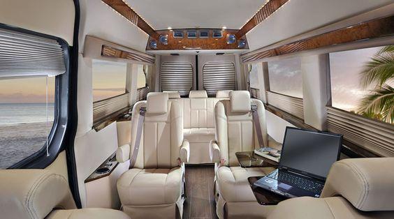 Luxery mercedes benz mini vans sprinter vans for Mercedes benz sprinter luxury conversion vans