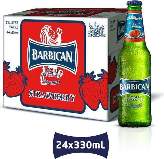 Bia Barbican Không Cồn Hương Dâu