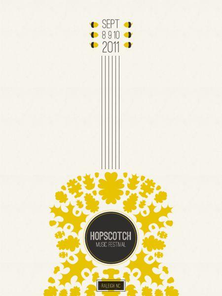 hopscotch music fest poster