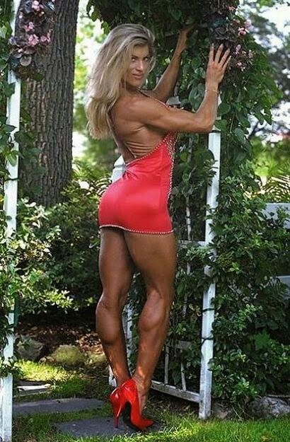 Muscled Mature Babe 6