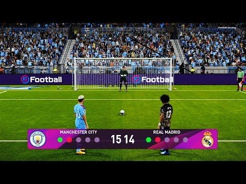 Pes 2020 Manchester City Vs Real Madrid Penalty Shootout New Kits In 2020 Manchester City Real Madrid Madrid