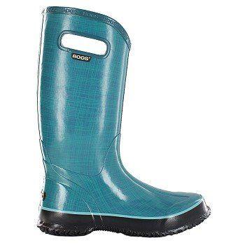 Fun colour! Bogs  Women's Linen Rain Boot at Famous Footwear