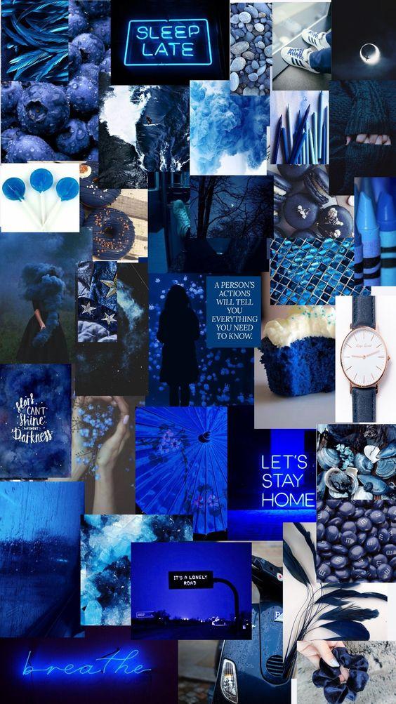 Navy Blue Aesthetic Blue Aesthetic Aesthetic Colors Dark Wallpaper Iphone