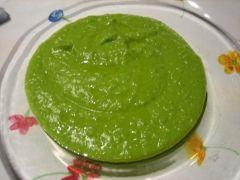 Crema di piselli, spinaci e lattuga (ricetta vegana)