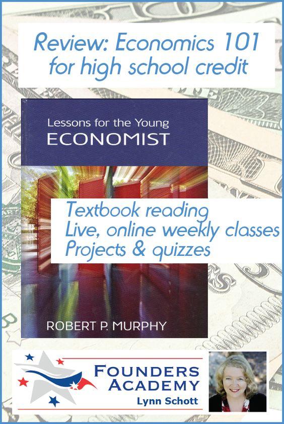 Economics 4 credit courses