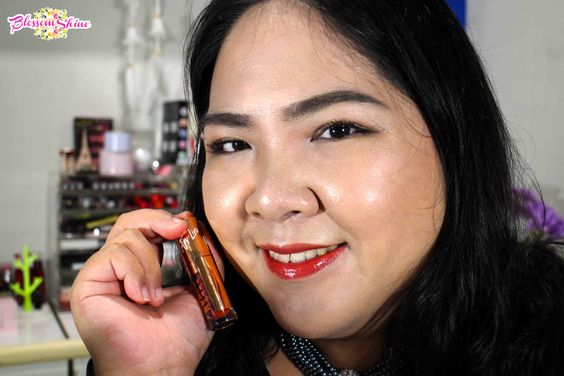 Lip swatch Liptint GOBAN - Loving