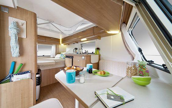 Hymer eriba pan familia vakantie 2014 pinterest for Interior caravan designs