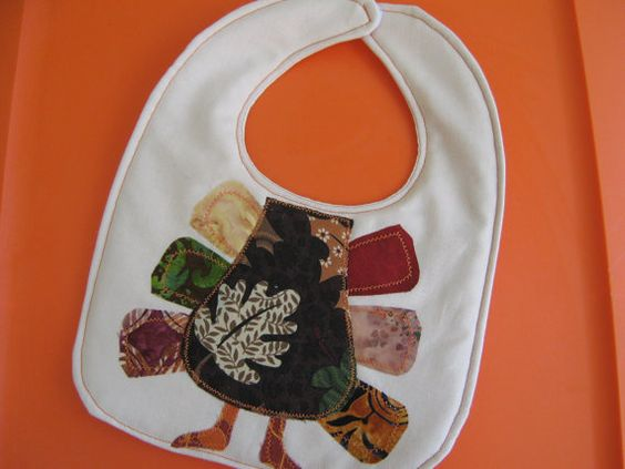 little turkey baby bib!