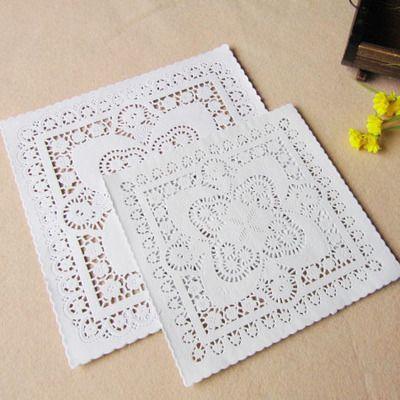 """Barato Ss033, 8 """" e 10 """" tamanhos mistos praça flor de papel Doilies Placemat artesanato para DIY Scrapbooking / cartão de confecção / decoração de casamento, Compro Qualidade Scrapbooks diretamente de fornecedores da China: 4.5""""&5.5""""6.5""""&8.5""""Mixed Sizes Round Lace Flower Paper Doilies Placemat for DIY Scrapbooking Paper Crafts/Wedding Decorat"""