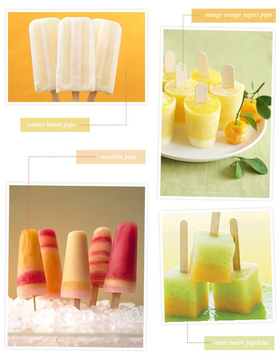 Fruit Popsicles by heylook: Click through for the links to the recipes!   #Popsicles #Fruit #heyloook: Yummy Popsicle, Recipes Popsicles, Popsicle Ideas, Homemade Popsicle, Popsicle Recipes, Fruit Recipe, Fruit Popsicles, Popsicles Fruit