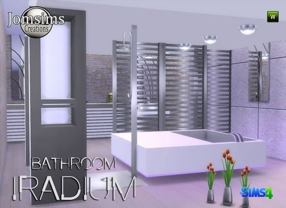Jom Sims Creations: Iradium bathroom • Sims 4 Downloads  Check more at http://sims4downloads.net/jom-sims-creations-iradium-bathroom/