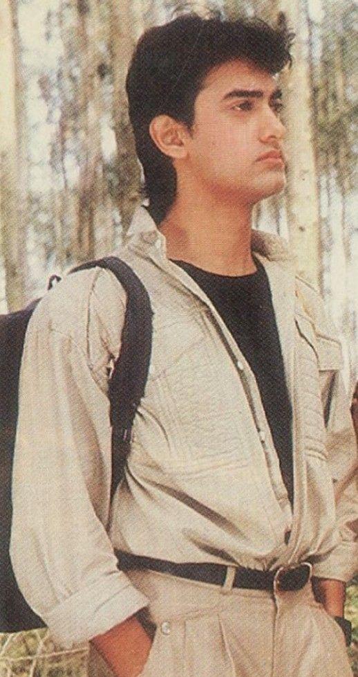 Aamir Khan Younger Years Aamir Khan Vintage Bollywood Bollywood Stars