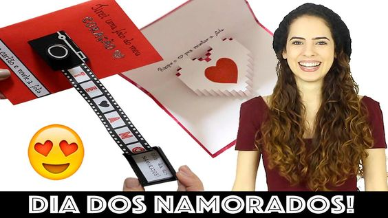 DIY: CARTÃO CRIATIVO PRO DIA DOS NAMORADOS   Paula Stephânia