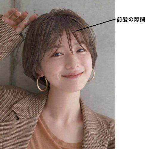 30代からの女性らしい髪型 ショート ショートボブ ヘアカタログ15選