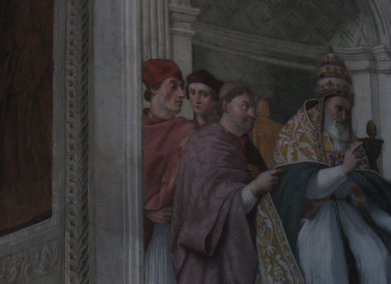 Stallone in the Vatican!