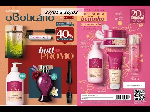 Revista O Boticário Ciclo 02 2020 Promo Boti Boticário Boticários Revista Do Boticário