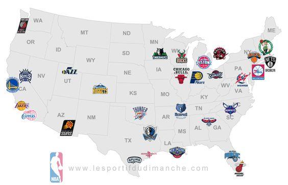 Carte NBA | Le sportif du dimanche .com