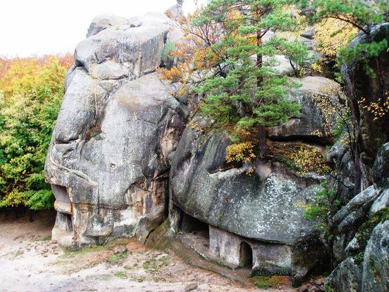 Скалы Довбуша, место силы